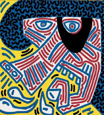 Keith Haring-Keith Haring - Sneeze-1984