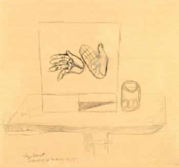 Le Corbusier-Chez Varnet ou etude de main-1955