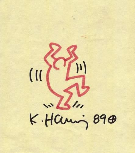 Keith Haring-Keith Haring - Dancing Mam-1989