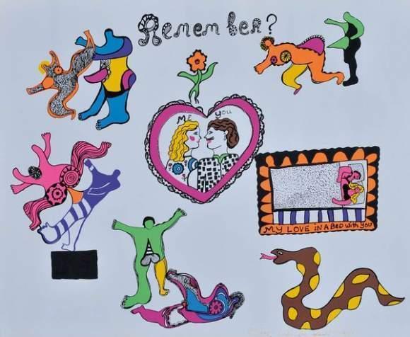 Niki de Saint Phalle-Remember-