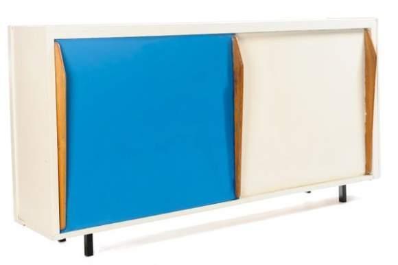 Le Corbusier-Meuble d'appoint.-1949