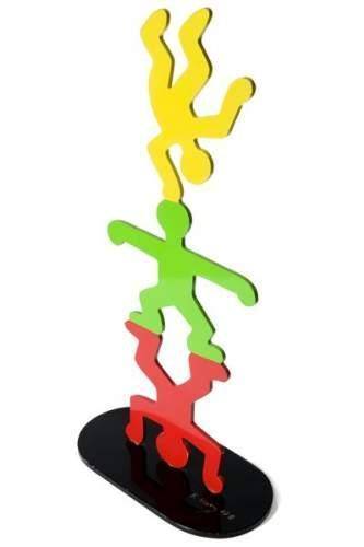 Keith Haring-Keith Haring - Totem d'acrobates-1987