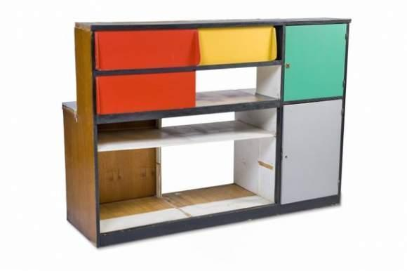 Le Corbusier-Meuble passe plat-1949