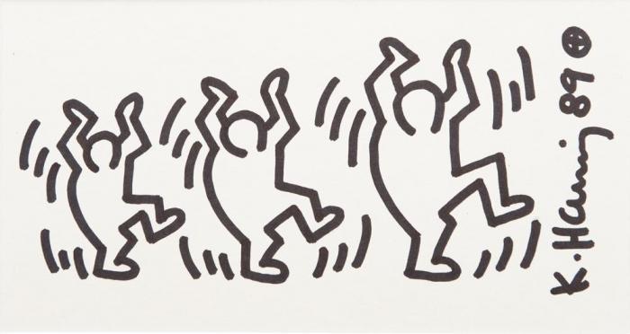 Keith Haring-Keith Haring - Drawing-1989