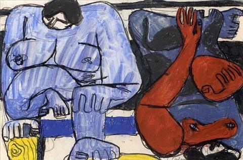 Le Corbusier-Deux femmes-1938
