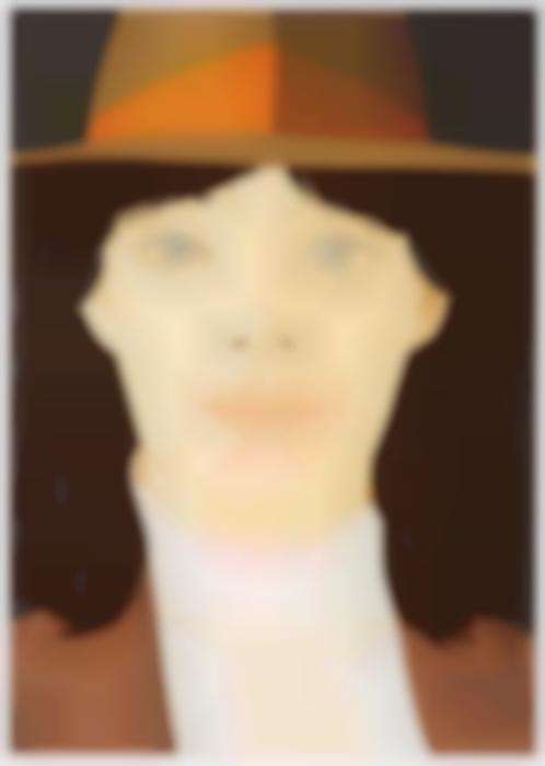 Alex Katz-The Orange Band (Maravell 115)-1979