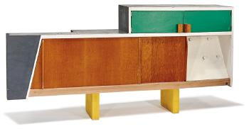 Le Corbusier-Kitchen cabinet from Unite d'Habitation, Marseille-1952