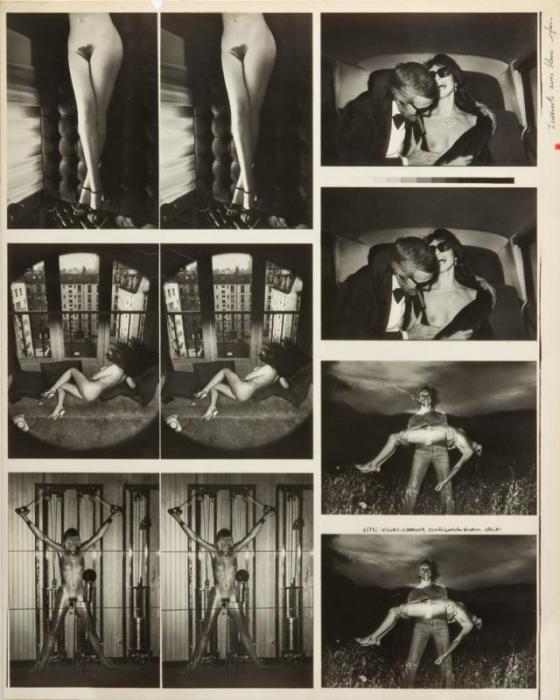 Helmut Newton-Fotographie Originali (1969)-1969
