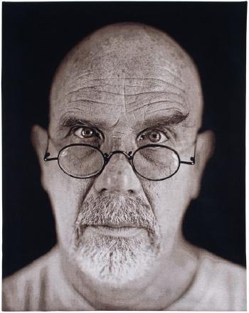 Chuck Close-Self-Portrait-2006