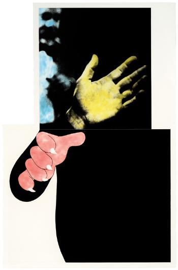 John Baldessari-Two Hands (with Distant Figure)-1990