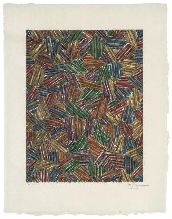 Jasper Johns-Cicada II-1981