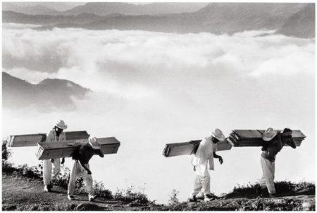 Sebastiao Salgado-Wood Delivery Men, Eastern Sierra Madre, Mexico-1980