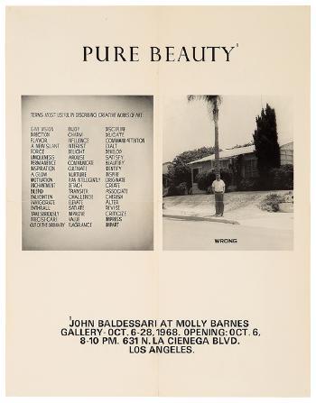 John Baldessari-Pure Beauty-1968