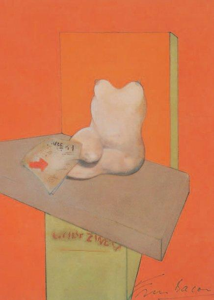 Francis Bacon-Study of the Human Body from a drawing by Ingres-