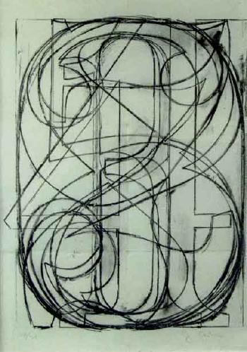 Jasper Johns-Serie des chiffres-1960