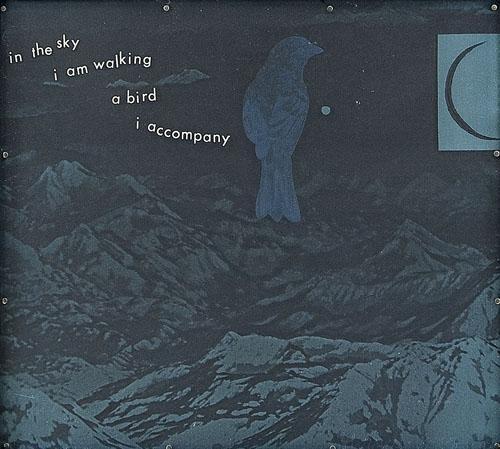 Robert Rauschenberg-Robert Rauschenberg - In the sky I am walking a bird I accompany-1971