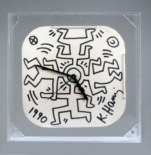 Keith Haring-Keith Haring - Clock-1990