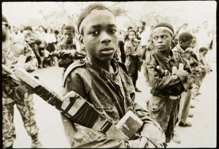 Sebastiao Salgado-Angola, Young MPIA Soldiers-1975