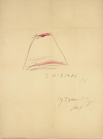 Cy Twombly-Galleria La Tartaruga-1967