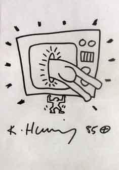 Keith Haring-Keith Haring - T.V-1985
