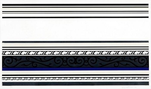 Roy Lichtenstein-Entablature IX-1976