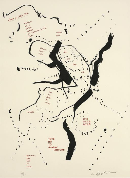Lucio Fontana-Poije-