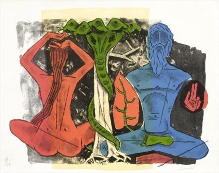 Maqbool Fida Husain-Work-