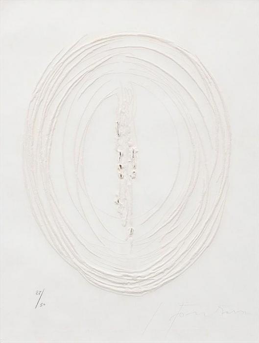 Lucio Fontana-Concetto Spaziale (from Sei acqueforti originali di Lucio Fon-1964