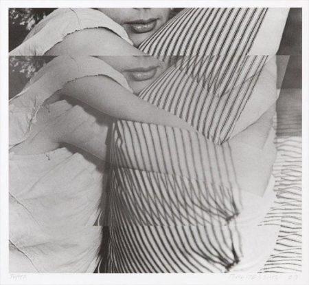 John Baldessari-Woman with Pillow-2003