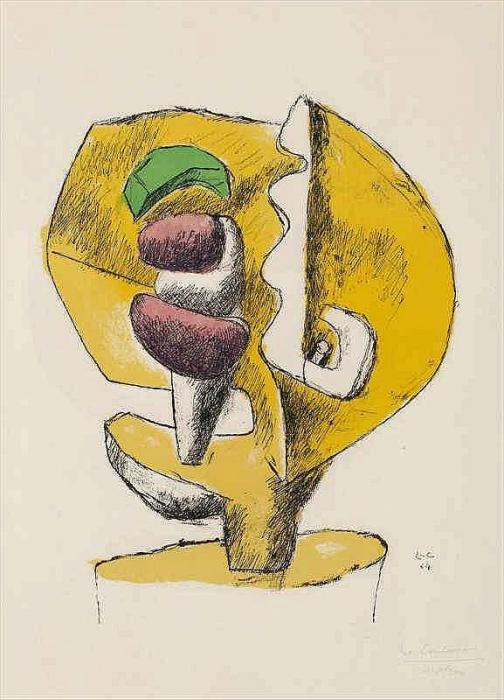 Le Corbusier-Etude Sculpture-1964