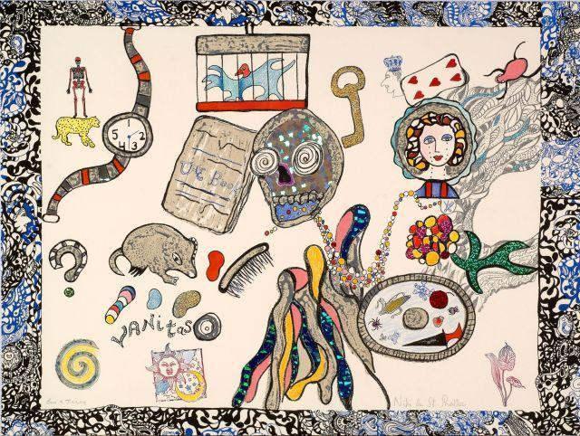Niki de Saint Phalle-Vanitas-1980