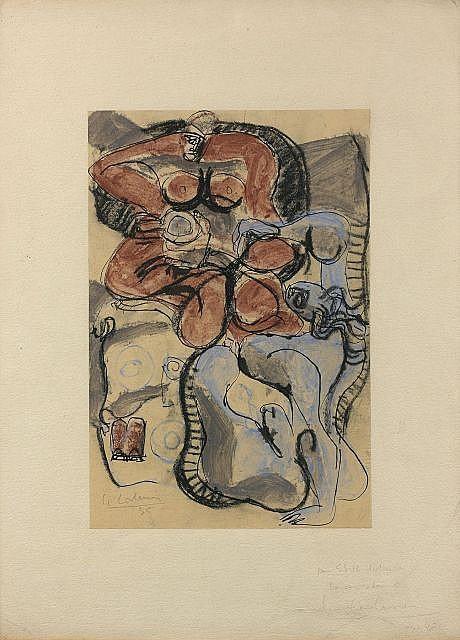 Le Corbusier-Homme et femme-1935