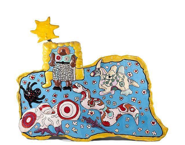 Niki de Saint Phalle-Grand mural-1969