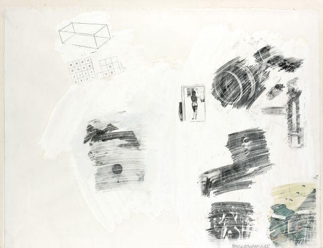 Robert Rauschenberg-Robert Rauschenberg - Sans titre (Untitled)-1968