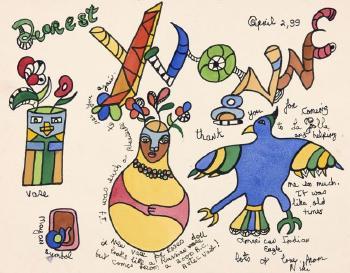 Niki de Saint Phalle-Dearest-1999