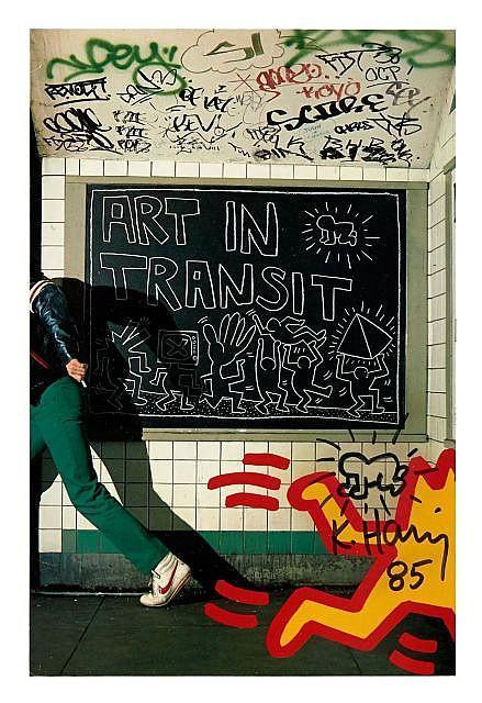 Keith Haring-Keith Haring - Art in Transit (Baby Radiant)-1985