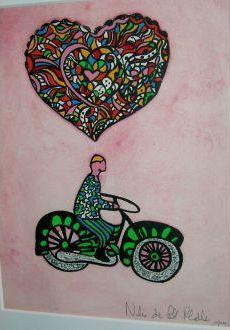 Niki de Saint Phalle-Le motocycliste amoureux-1980