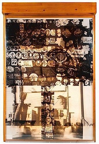 Robert Rauschenberg-Robert Rauschenberg - Sling Shots Lit # 7-1985