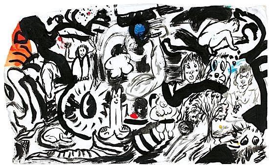 Keith Haring-Keith Haring - Social Scene Monaco-1988