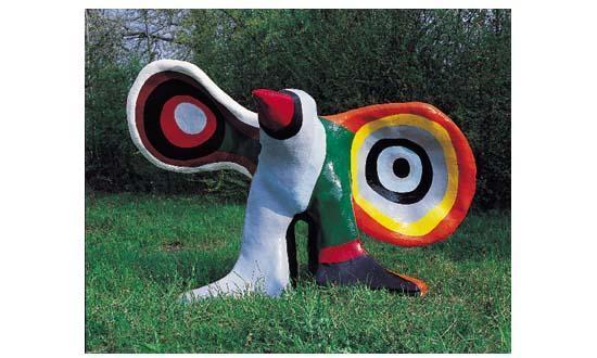 Niki de Saint Phalle-L'oiseau-1971
