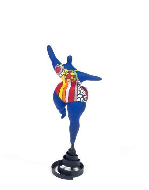 Niki de Saint Phalle-Mini Nana danseuse-