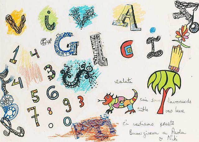 Niki de Saint Phalle-Viva Gigi-