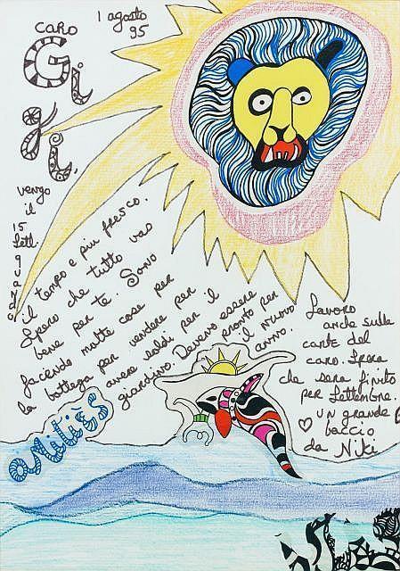 Niki de Saint Phalle-Le lion-1995