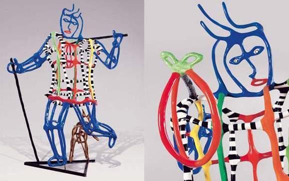 Niki de Saint Phalle-Le Fou-1990