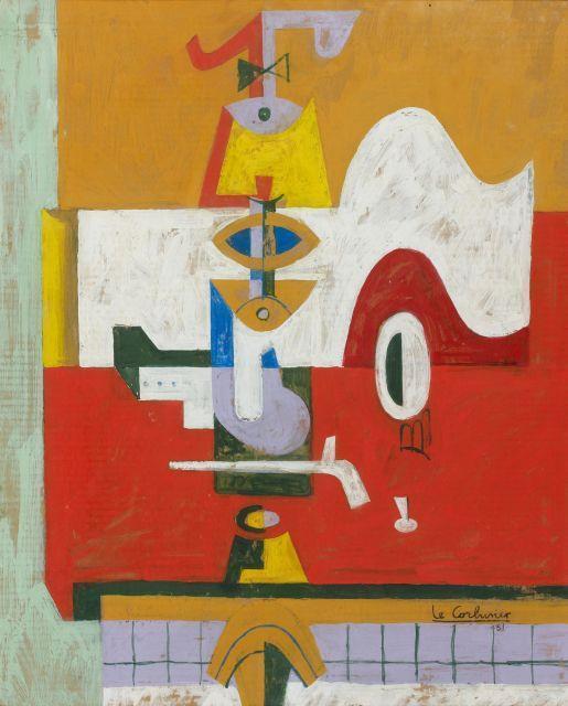 Le Corbusier-Nature morte-1961