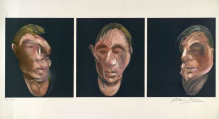 Francis Bacon-Three Portrait Heads-1990