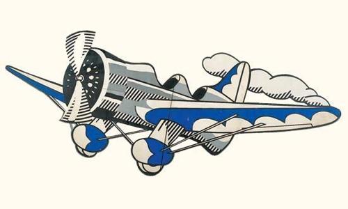 Roy Lichtenstein-Airplane-1978