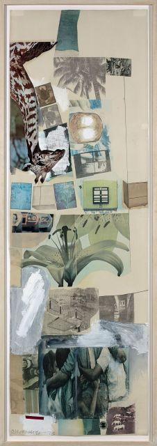 Robert Rauschenberg-Robert Rauschenberg - Sans titre (Untitled)-1973