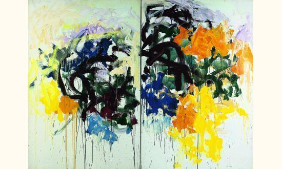 Joan Mitchell-Lille V-1986
