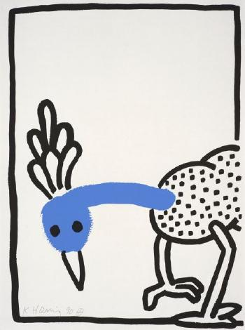 Keith Haring-Keith Haring - The Story of Red and Blue 8-1990